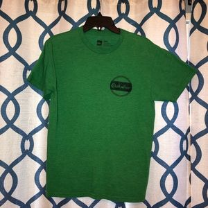 3 for $25 Quiksilver Men's Green Distressed T
